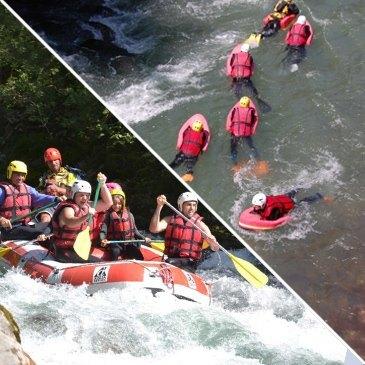 Rafting et Hydrospeed sur la Dranse à La Vernaz