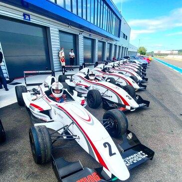 Stage de pilotage Formule Renault, département Ain