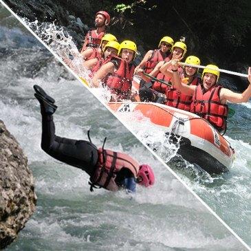 Rafting et Canyoning sur la Dranse à La Vernaz - Morzine