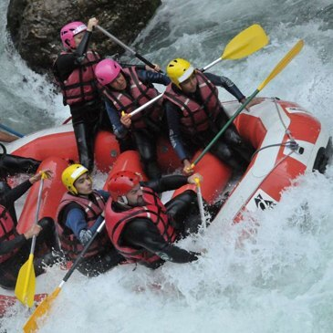 La Dranse - Morzine, Haute savoie (74) - Rafting