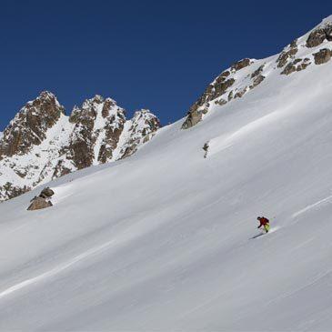 Découverte du ski Freeride à Sestrières - Italie