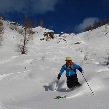 Ski Freeride en région Provence-Alpes-Côte d'Azur et Corse
