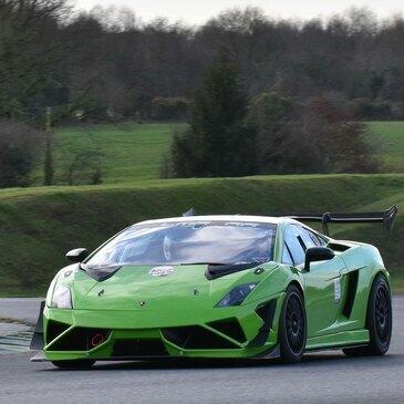 Baptême en Lamborghini Supertrofeo Circuit de Vaison