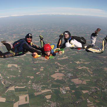 Stage Parachutisme PAC en région Bourgogne