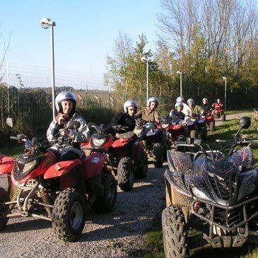 Randonnée en quad proche de Compiègne