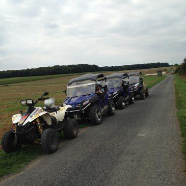 Quad & Buggy, département Oise