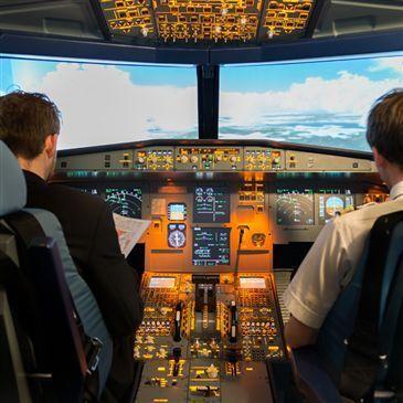 Simulateur de Vol en Airbus A320 à Grenoble