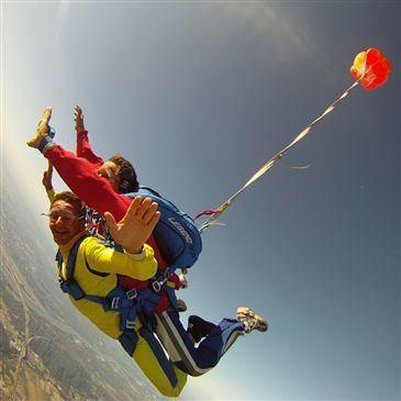 Saut en Parachute Tandem à Montpellier