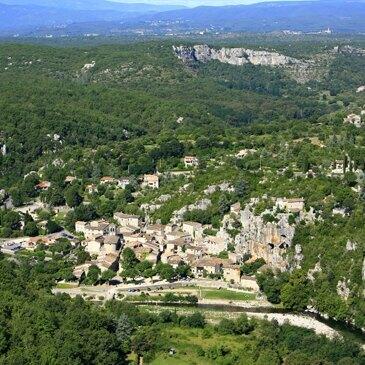 Baptême de l'air hélicoptère, département Ardèche