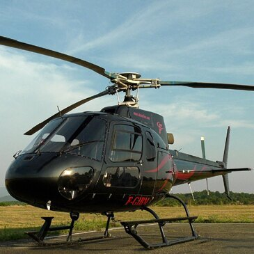 Baptême de l'air hélicoptère proche Aérodrome d'Aubenas Ardèche méridionale