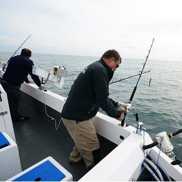 Saintes-Maries-de-la-Mer, Bouches du Rhône (13) - Pêche au gros