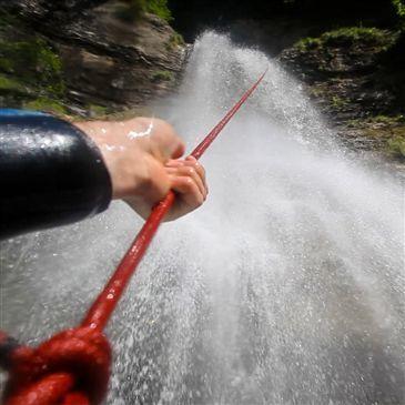 Canyoning en région Franche-Comté