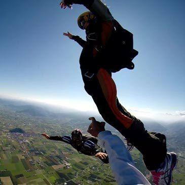 Saut en Parachute, département Piémont