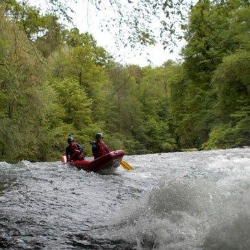 Rafting, département Savoie