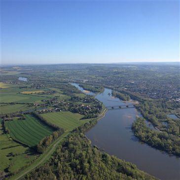 Baptême de l'air montgolfière, département Nièvre