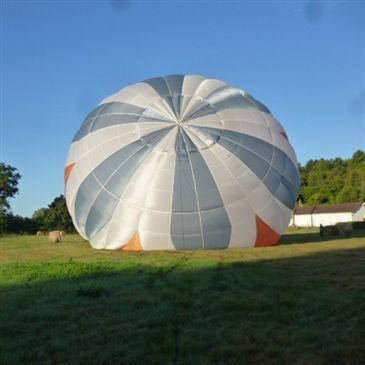 Aéroport de Nevers-Fourchambault, Nièvre (58) - Baptême de l'air montgolfière