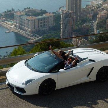 Stage pilotage sur route Lamborghini Gallardo Spyder Monaco
