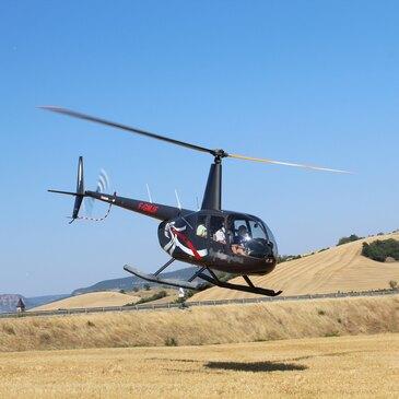 Baptême en Hélicoptère à Mâcon - Survol de la Bourgogne