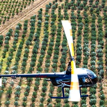 Aérodrome de Mâcon - Charnay, Saône et loire (71) - Baptême de l'air hélicoptère