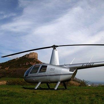 Stage initiation hélicoptère, département Saône et loire