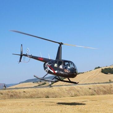 Baptême de l'air hélicoptère, département Haut rhin