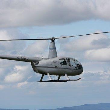 Vol initiation au pilotage en hélicoptère Colmar