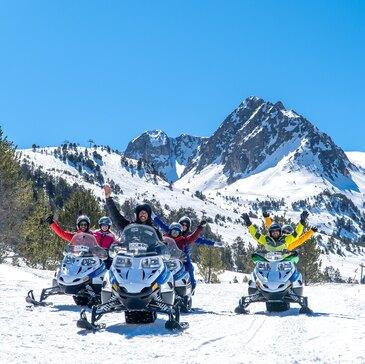 Scooter des neiges, département Ariège