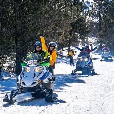 Scooter des neiges en région Midi-Pyrénées