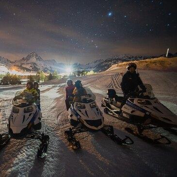 Scooter des neiges proche Grandvalira (Andorre), à 45 min d'Ax-les-Thermes