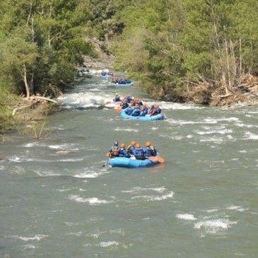 Rafting, département Haute Garonne