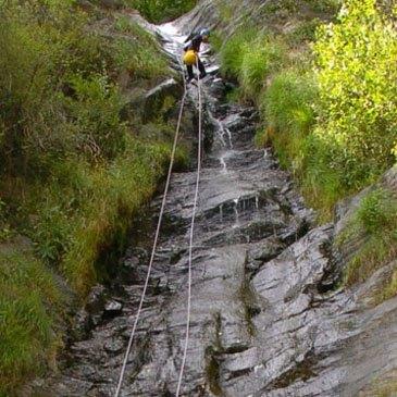 Canyoning, département Haute Garonne