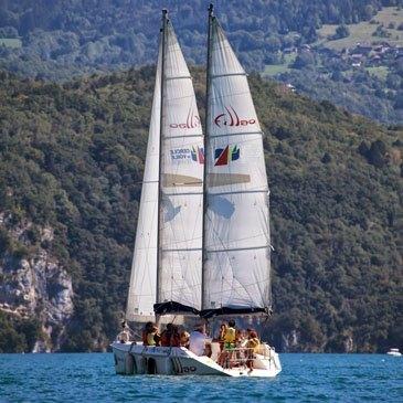 Découverte de la navigation à la voile - Lac d'Annecy