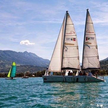 Initiation à la Voile en région Rhône-Alpes