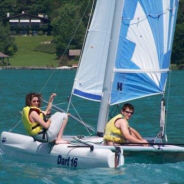 Initiation A La Voile Sur Le Lac D Annecy Haute Savoie 74