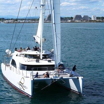 Balade en catamaran privatisé au Grau-du-Roi - Camargue