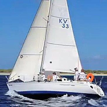 Week-end en voilier à Quimper