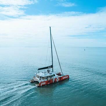Soirée en Catamaran avec dîner à La Grande-Motte