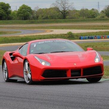 Baptême en Ferrari 488 GTB Circuit Le Mans