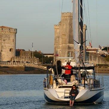 Week-end d'initiation à la voile à La Rochelle