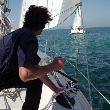 Location de Voilier avec Skipper à La Rochelle