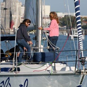 Balade en bateau, département Charente maritime