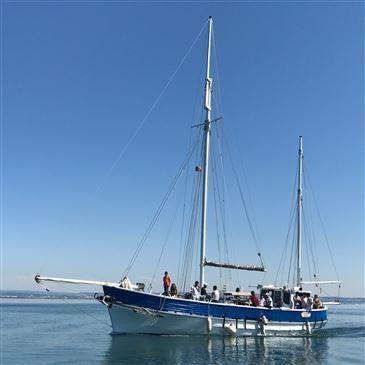 Journée en voilier dans les calanques de Marseille en région Provence-Alpes-Côte d'Azur et Corse