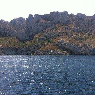 Balade en bateau, département Bouches du Rhône