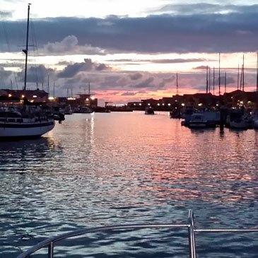 Balade en bateau, département Landes