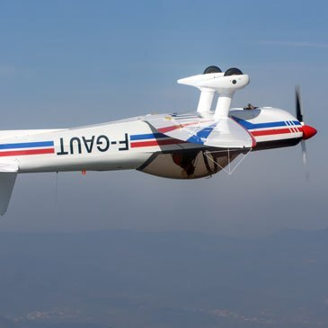 Aérodrome de Saint-Rambert-d'Albon, à 45 min de Lyon, Rhône (69) - Baptême en avion de voltige