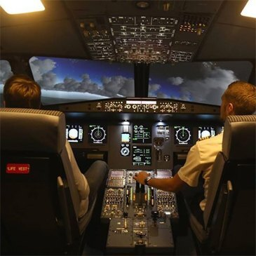 Simulateur de Vol en Avion de Ligne près de Genève