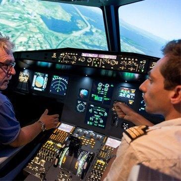 Stage Simulateur de Vol Avion de Ligne près de Genève