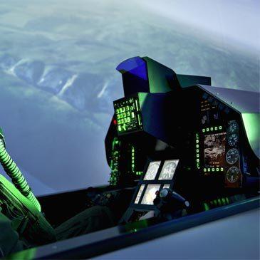 Simulateur de Vol en Avion de Chasse F16 près de Genève