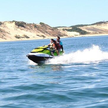 Randonnée en jet ski vers l'Île aux Oiseaux - Bassin d'Arcachon
