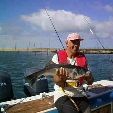 Arcachon, Gironde (33) - Pêche au gros